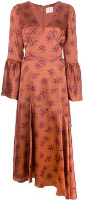 Cinq à Sept Kasha silk dress