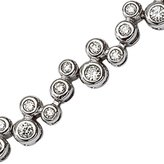 KATARINA 14K White Gold 3 ct. Diamond Tennis Bracelet