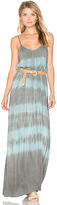 Blue Life Spring Lovin Maxi Dress in Blue. - size L (also in M,S,XS)