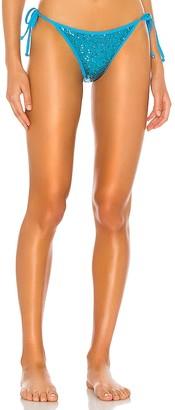 superdown Chantell Sequin Bikini Bottom