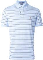 Polo Ralph Lauren striped chest logo polo shirt - men - Cotton - XL