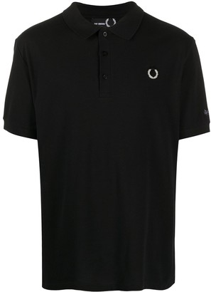 Fred Perry Photo Print Polo Shirt