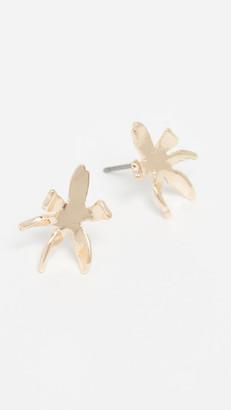 Lele Sadoughi Waterlily Stud Earrings