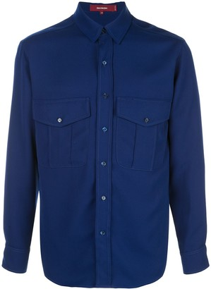 Sies Marjan Oskar twill double-pocket shirt