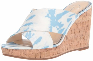 Jessica Simpson womens Seena Wedge Sandal