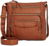 Style and Co Kenza Washed Crossbody, Created for Macy's
