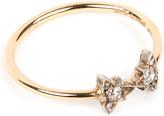 Annina Vogel 9 carat gold and diamond bowtie ring