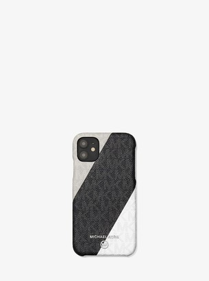 MICHAEL Michael Kors Color-Block Logo Phone Cover for iPhone 11