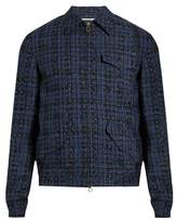 Boglioli Point-collar cotton-blend tweed jacket