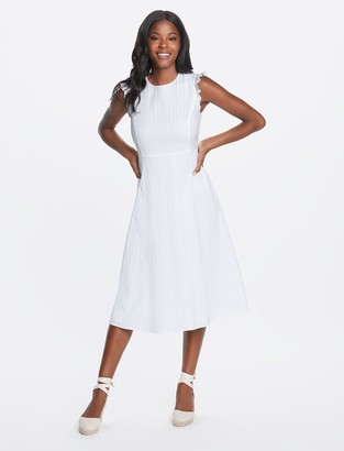 Draper James Sleeveless Midi Love Circle Dress