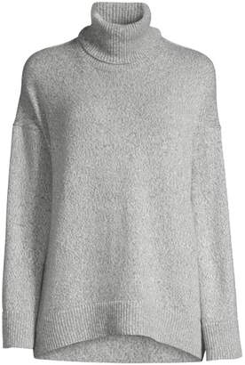 Lafayette 148 New York Oversized Cashmere Turtleneck Sweater