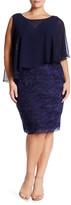 Marina Tiered Lace Dress (Plus Size)