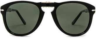 Persol PO0714 in Black & Green Polar | FWRD