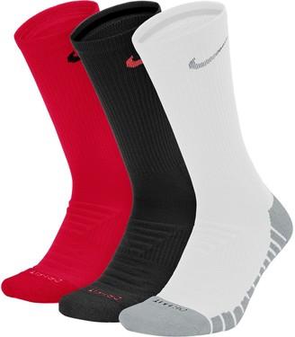 Nike Unisex Everyday 3-pack Max Cushion Crew Training Socks