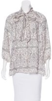 Zimmermann Printed Lightweight Top