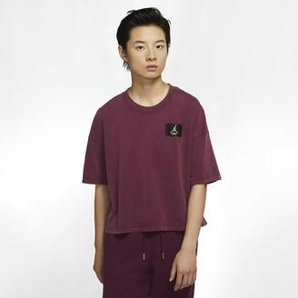 Nike Women's Short-Sleeve Boxy T-Shirt Jordan Essentials