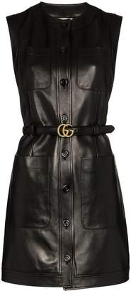 Gucci Double G belted mini dress