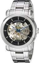 Stuhrling Original Men's 387.3311 Classic Delphi Antium Automatic Skeleton Dial Watch
