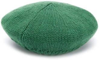 Danielapi Cable Knit Beret