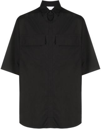 Ermenegildo Zegna Short-Sleeved Button-Up Shirt