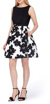 Tahari Petite Women's Fit & Flare Dress