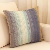 ZHNG KSJks Simple style cotton cnvs sof pillow/Striped Office pillow/ cr cushion