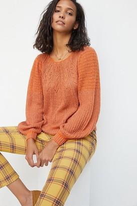 Maeve Lindsay Pointelle Sweater