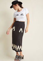 Miss Patina Kitschy Kitty Sweater Skirt