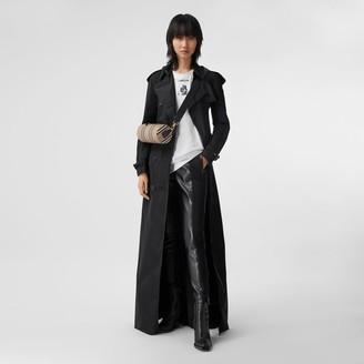 Burberry Extra Long Shape-memory Taffeta Trench Coat