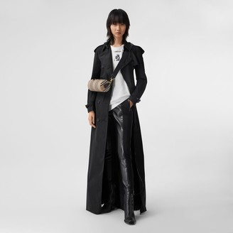 Burberry Extra Long Shapememory Taffeta Trench Coat