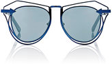 Karen Walker Women's Marguerite Sunglasses-BLUE
