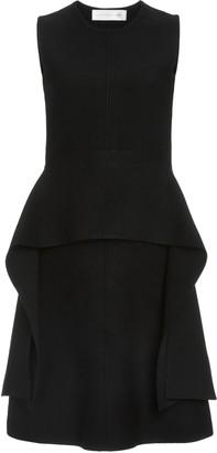 Victoria Victoria Beckham Peplum Sleeveless Dress