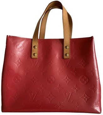 Louis Vuitton Brentwood Pink Patent leather Handbags