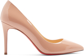 Christian Louboutin Pigalle 85mm patent-leather pumps