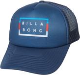 Billabong Kids Die Cut Trucker Cap Blue