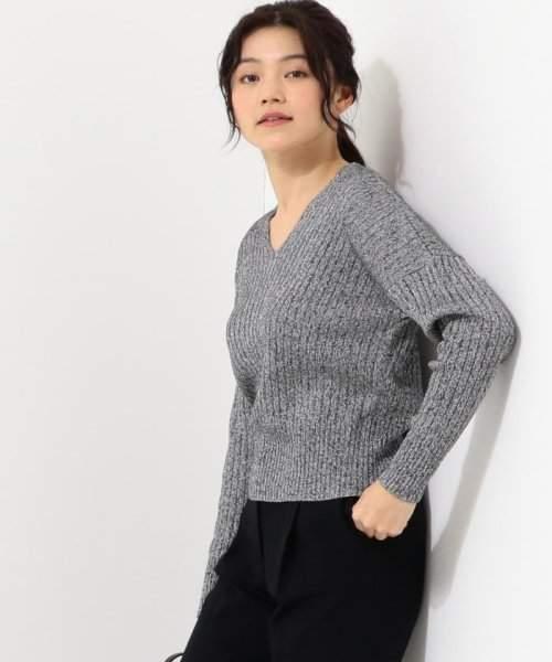 ICB (アイシービー) - アイシービー 【店頭売れ筋】Siltex Cotton Vネック ニット