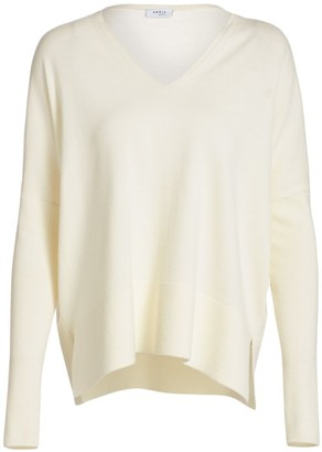Akris Punto V-Neck Wool Pullover Sweater