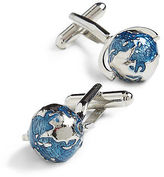 Link Up Spinning Globe Cuff Links Casual Male XL Big & Tall