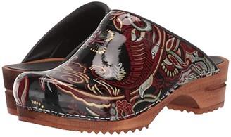 Sanita Rococco (Black/Red) Women's Shoes