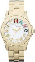 Marc by Marc Jacobs Women's Riviera Gold Logo Watch