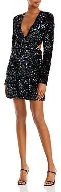 Bardot Jenny Open Back Sequin Mini Dress