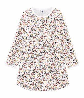 Petit Bateau Girl's Chemise De Nuit Ml_5228601 Nightie