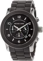 Michael Kors Men's MK8129 Silicone Quartz Watch