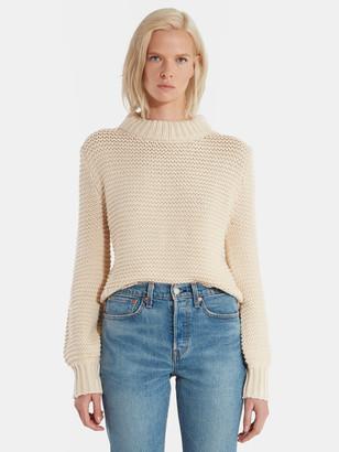 Bec & Bridge Elsa Balloon Sleeve Knit Sweater