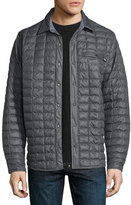 The North Face Reyes Thermoball Quilted Shirt Jacket, Dark Gray