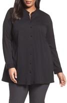 Eileen Fisher Plus Size Women's Organic Cotton Jersey Shirt
