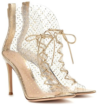 Gianvito Rossi Elly 105 PVC ankle boots