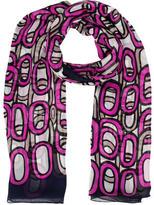 Diane von Furstenberg Printed Silk Scarf w/ Tags