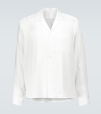 COMMAS Camp collar cotton shirt