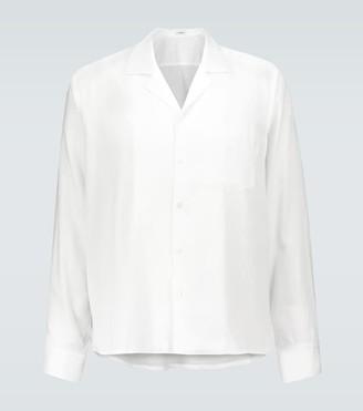 COMMAS Camp collar cotton shirt